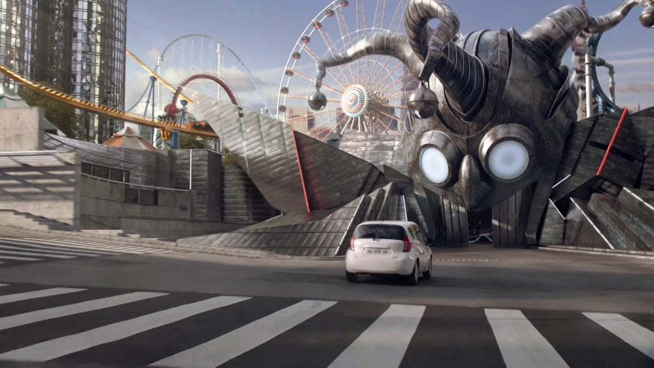 Ad | Nissan Note - Ghost Train