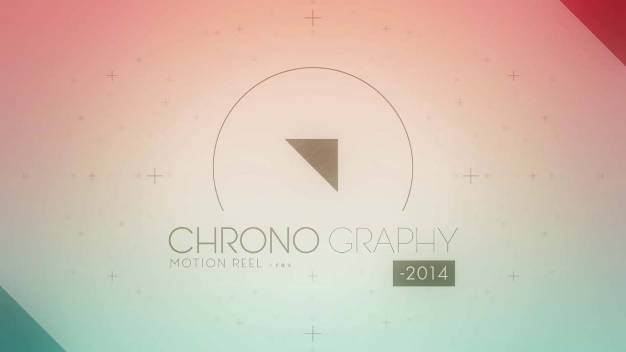 CHRONO GRAPHY -2014|Motion Reel