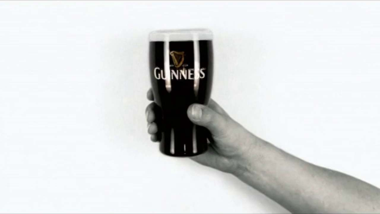Guiness 'Hands' commercial, 60 sec edit