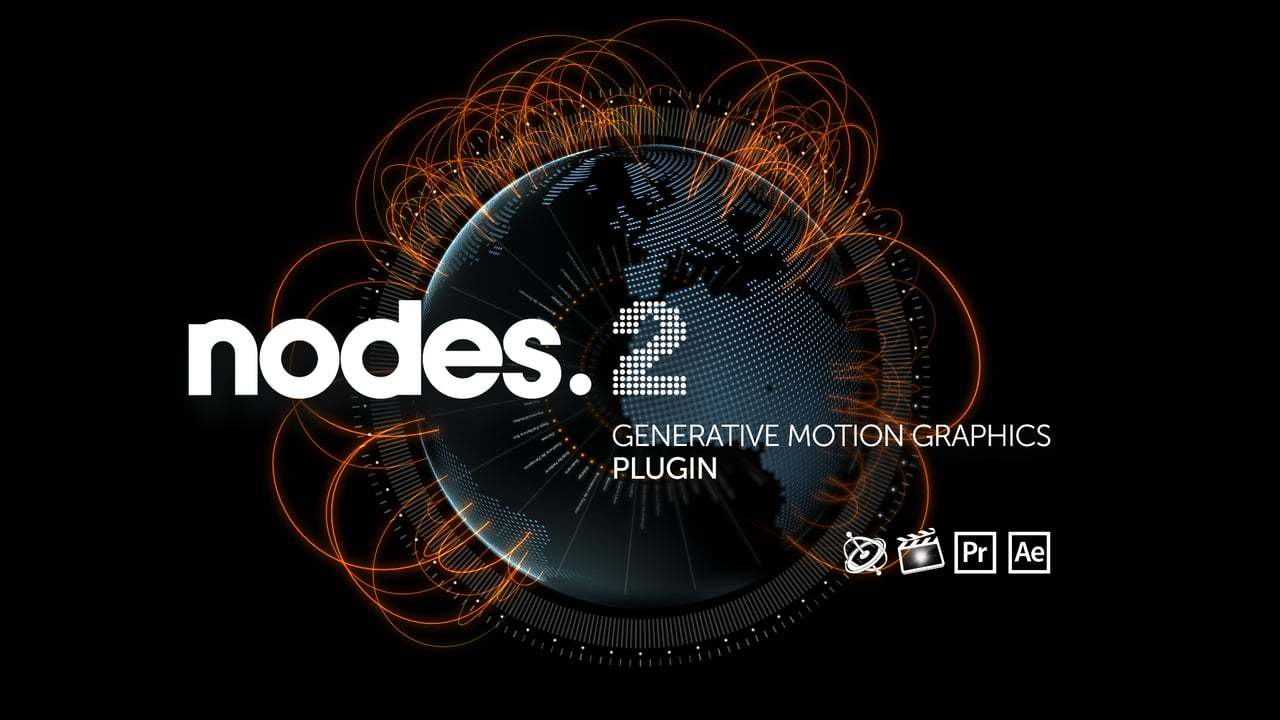 Nodes 2 - Motion Graphics Plugin for After Effects, FCPX , Motion and Premiere Pro.