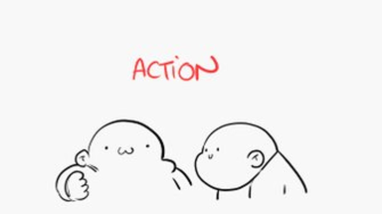 Animation basics for everyone Today: Anticipation, Action, Reaction https://t.co/zZDkZGKEdQ