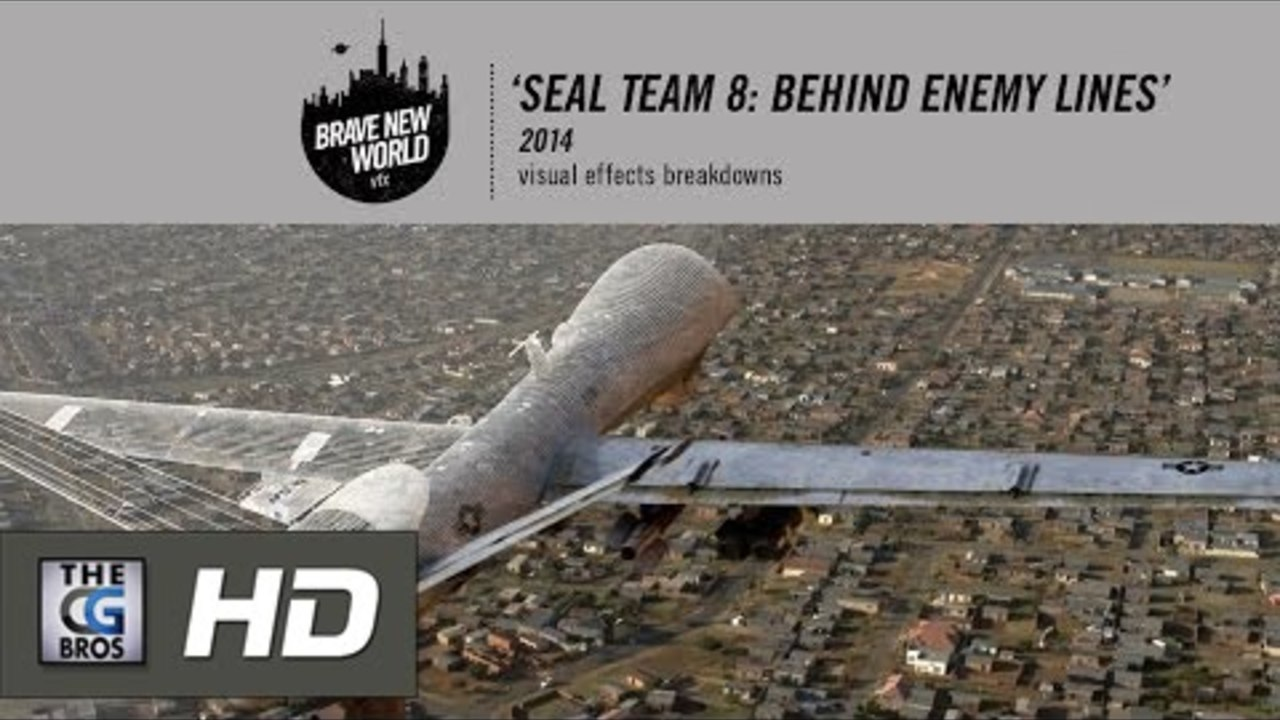 CGI & VFX Breakdowns HD: 'Seal Team 8  Behind Enemy Lines' - by Brave New World
