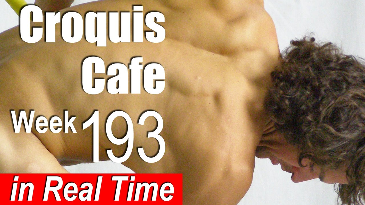 Croquis Cafe: Figure Drawing Resource No. 193
