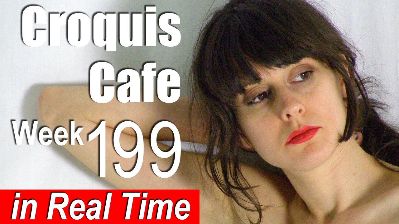Croquis Cafe: Figure Drawing Resource No. 199