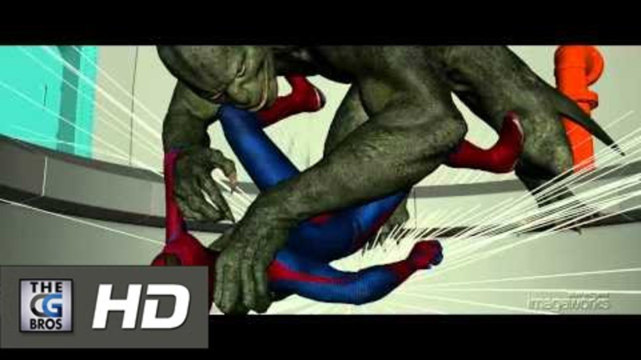 CGI VFX Behind The Scenes HD:The Amazing Spider Man Sewer Battle Sony Pictures Imageworks