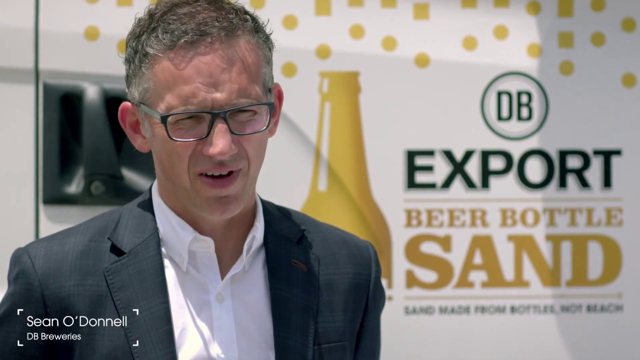 DB Export – Sand Made From Bottles, Not Beach