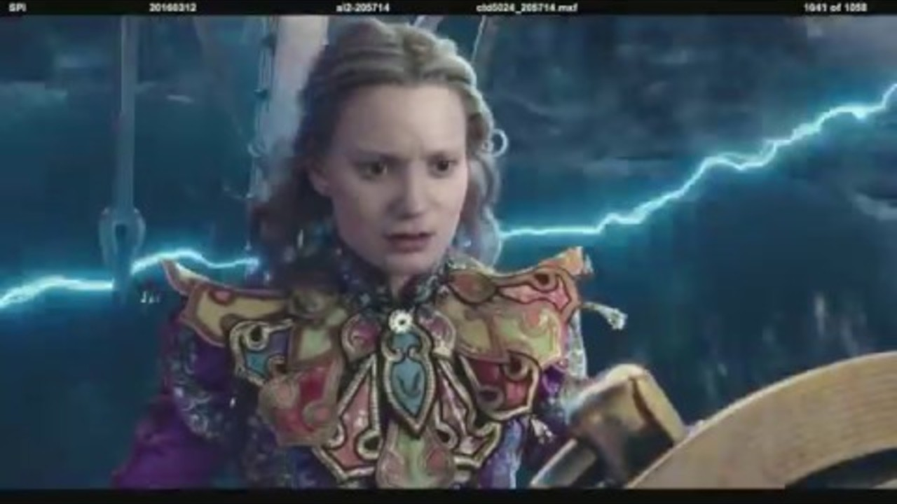 Alice Through the Looking Glass: Creating the Oceans of Time