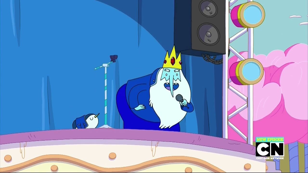 Adventure Time Ice King Do The Boogaloo