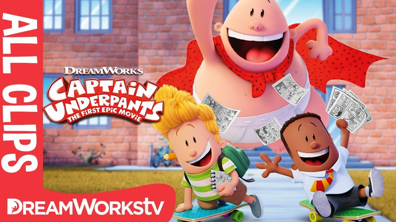 Captain Underpants ALL CLIPS Official | CAPTAIN UNDERPANTS: THE FIRST EPIC MOVIE