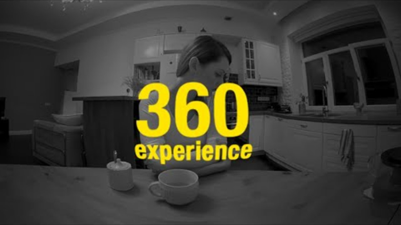 360 experience:  Do not look the other way