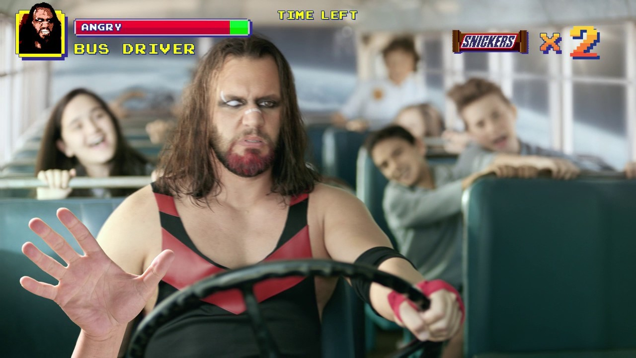 """SNICKERS® - """"Wrestler"""" Video Game"""