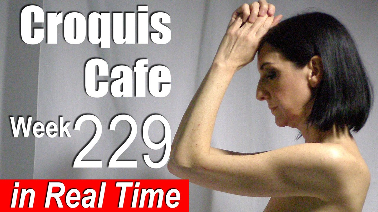 Croquis Cafe: Figure Drawing Resource No. 229