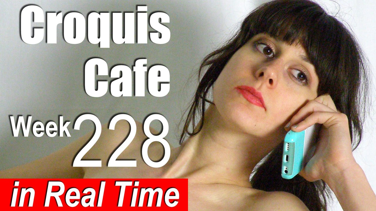 Croquis Cafe: Figure Drawing Resource No. 228