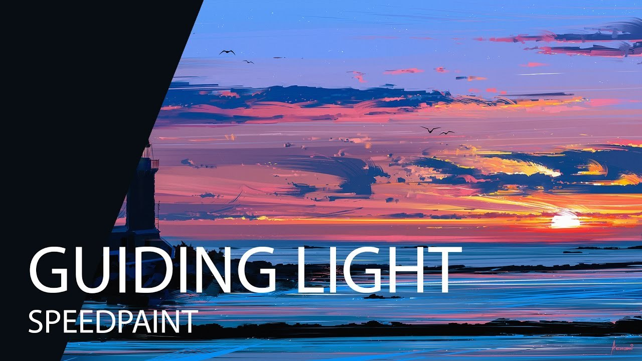 Speedpaint | Paint Tool SAI | Guiding Light