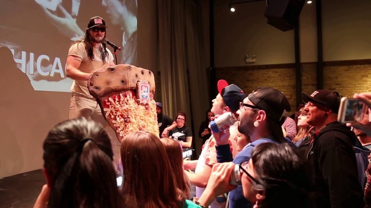 Andrew WK Pizza Summit 2016 in Chicago
