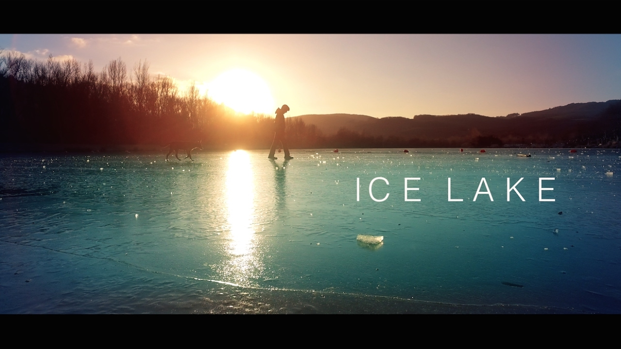 DJI Osmo - Cinematic Ice lake 4K