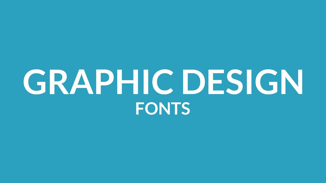 Best Free Fonts for Graphic Design | Free Download