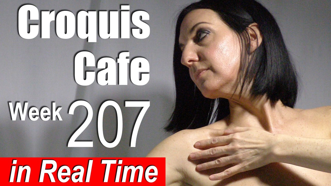 Croquis Cafe: Figure Drawing Resource No. 207