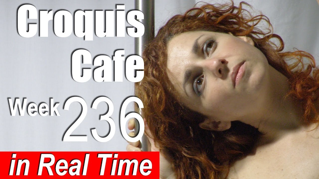 Croquis Cafe: Figure Drawing Resource No. 236