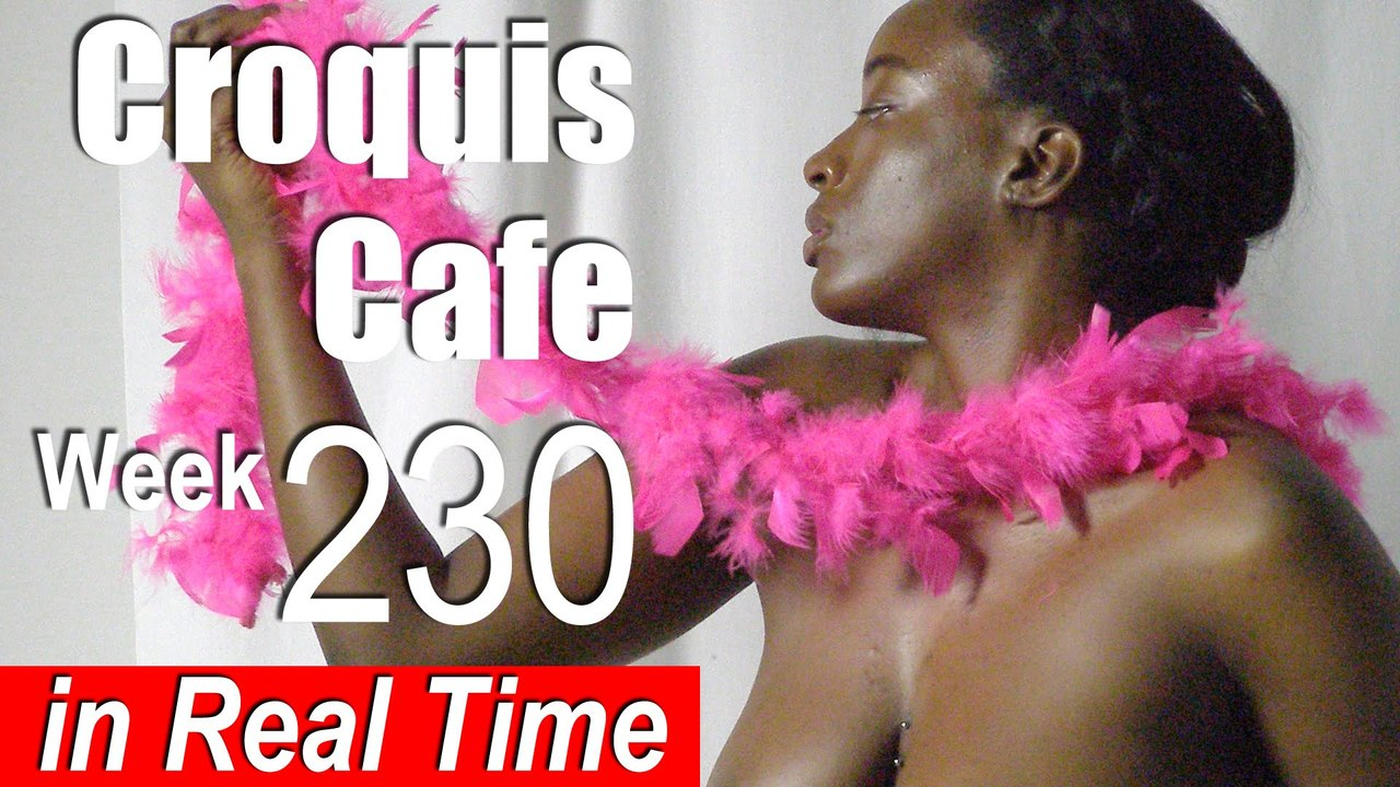 Croquis Cafe: Figure Drawing Resource No. 230