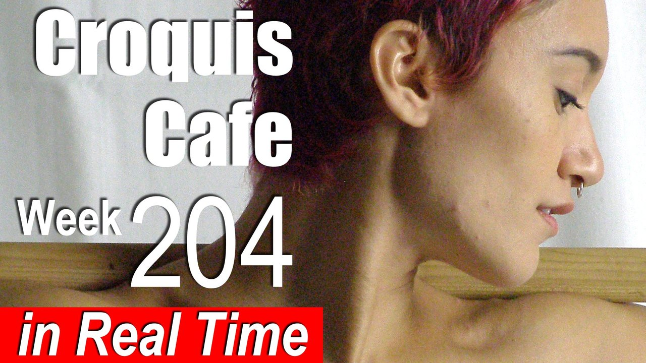 Croquis Cafe: Figure Drawing Resource No. 204
