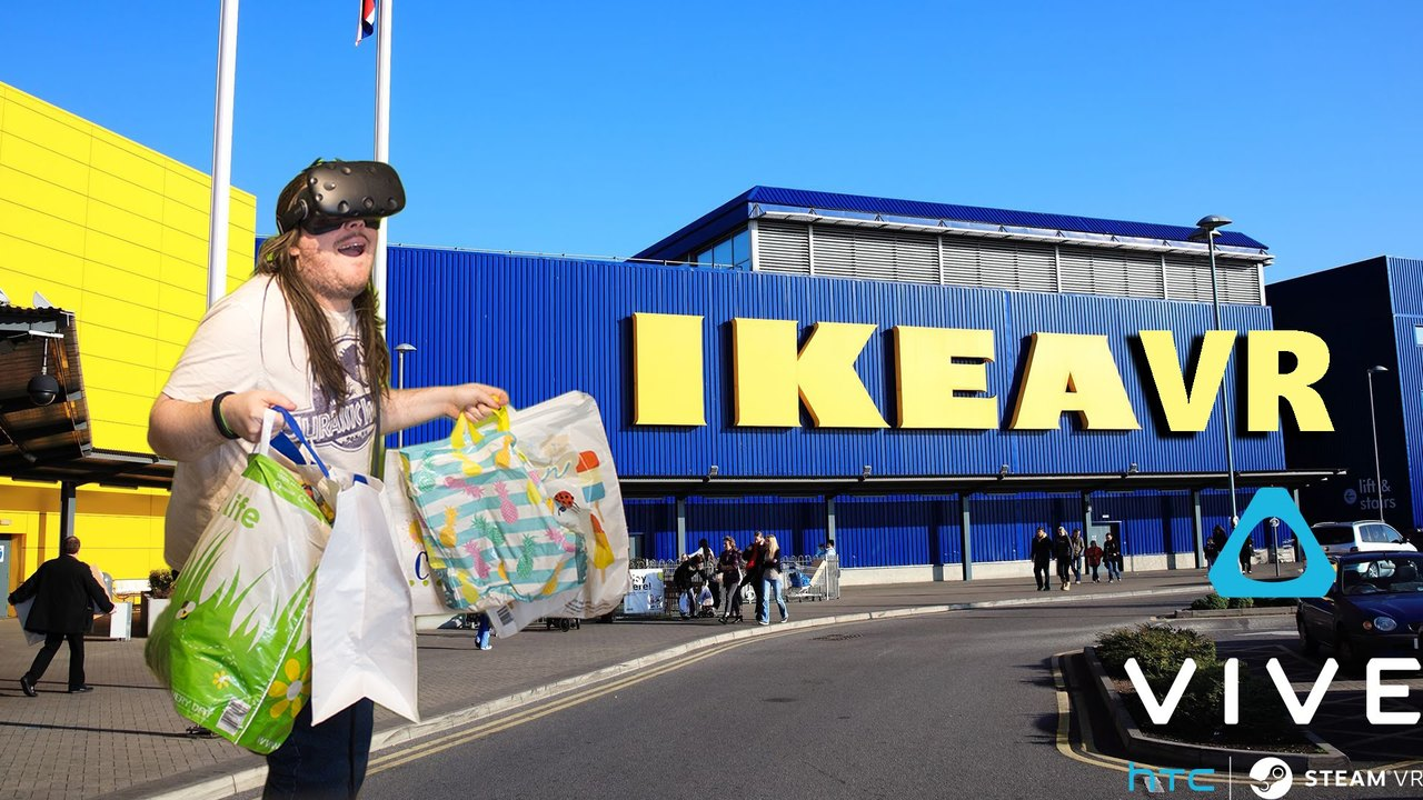 The Future Of Shopping | Ikea VR | HTC VIVE