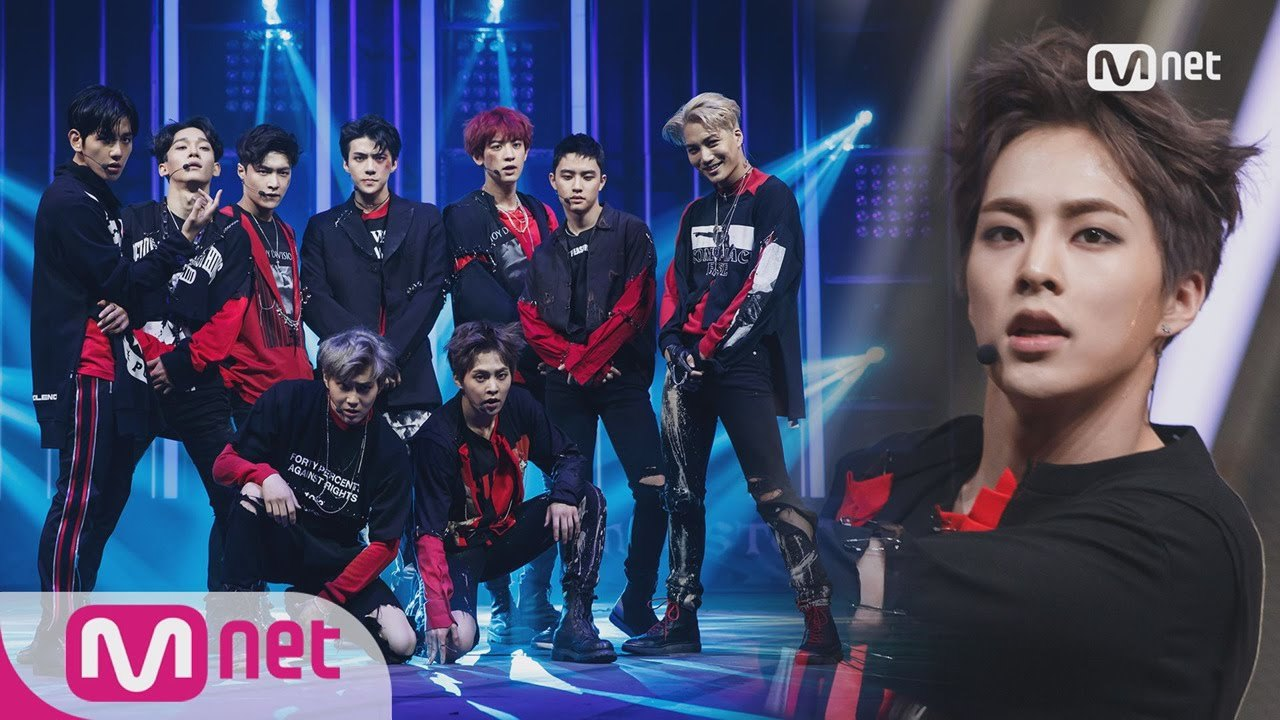 EXO - Monster Comeback Stage M COUNTDOWN 160609 EP.477