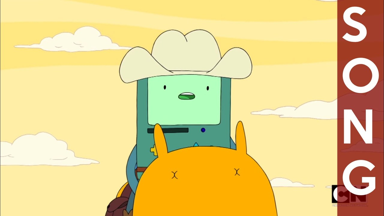 Adventure Time -  Robot Cowboy [Angel Face Song]