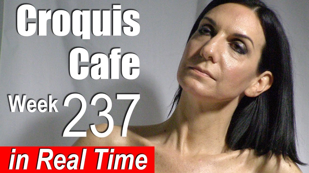 Croquis Cafe: Figure Drawing Resource No. 237