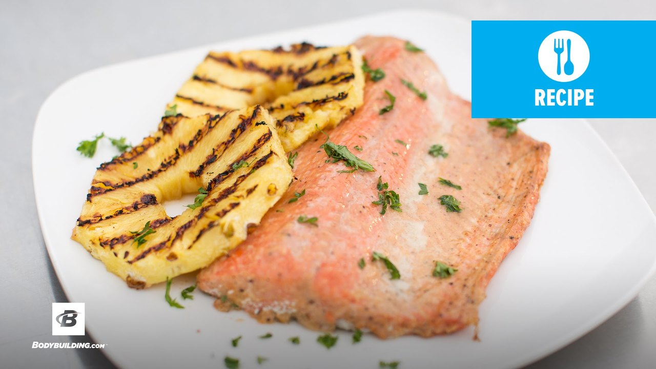 Healthy Grilled Salmon   Fit Men Cook