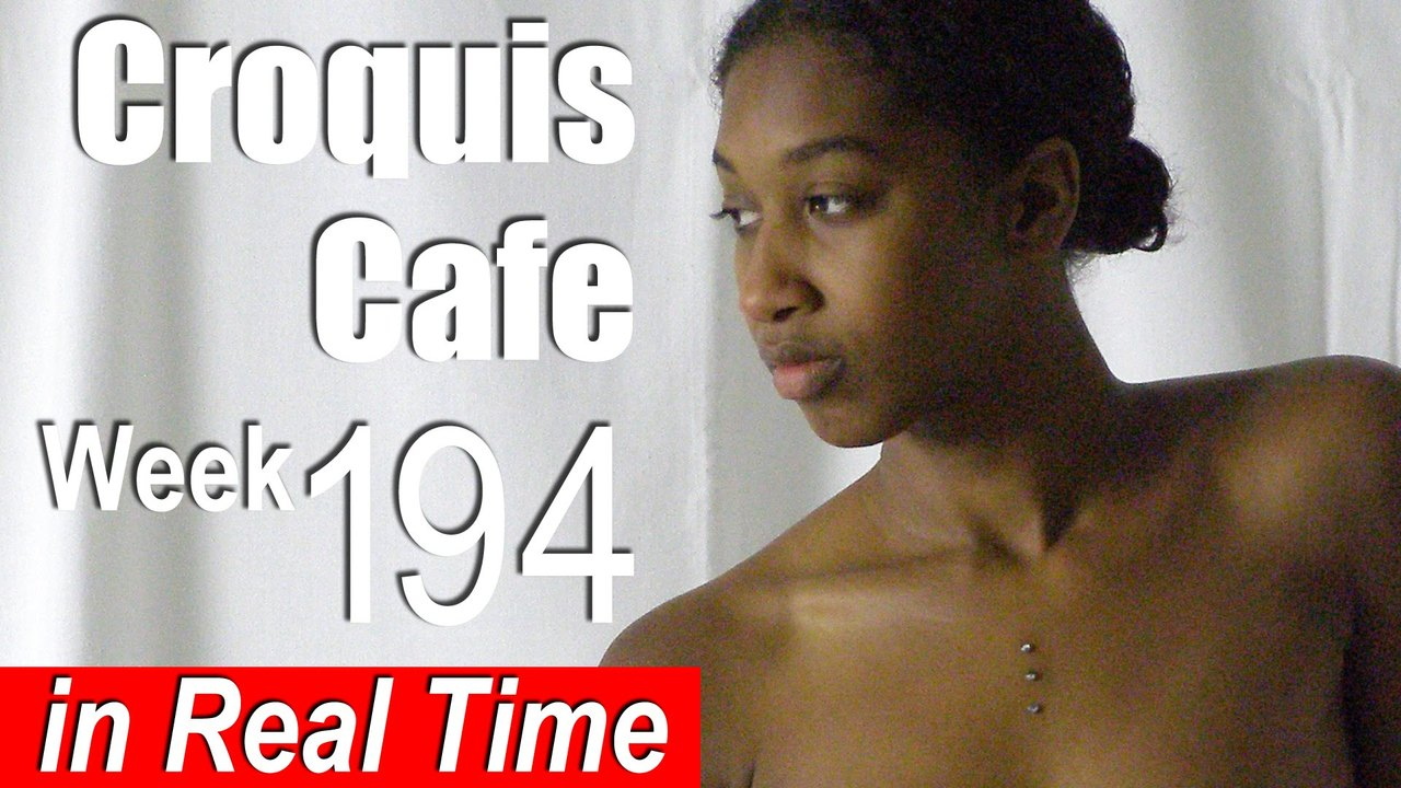 Croquis Cafe: Figure Drawing Resource No. 194