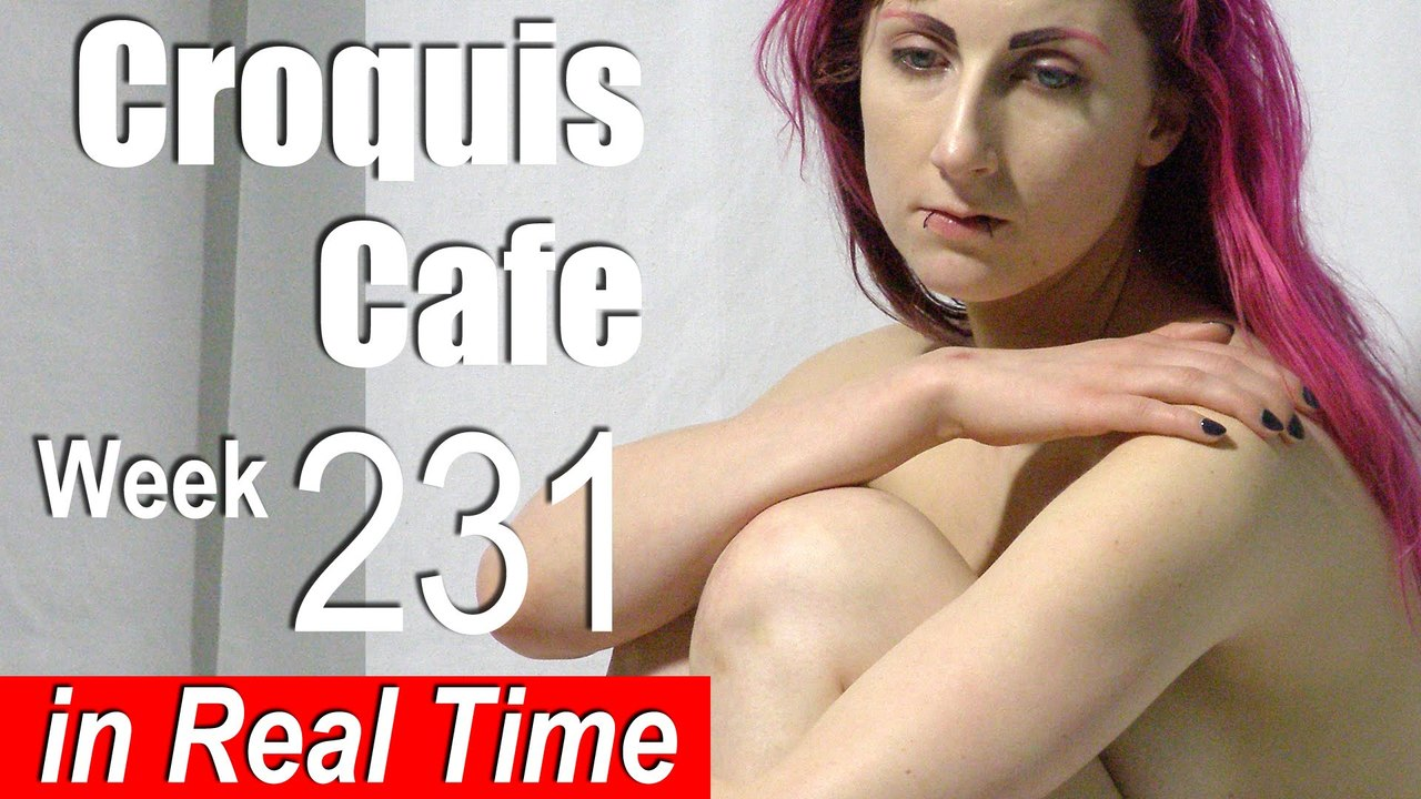 Croquis Cafe: Figure Drawing Resource No. 231 (Female Torso)
