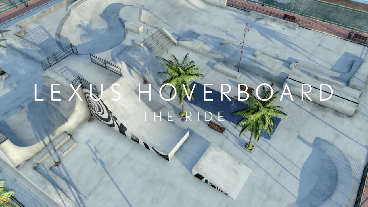 Behind the Scenes: Lexus Hoverboard 'Ride the Slide' Immersive Experience