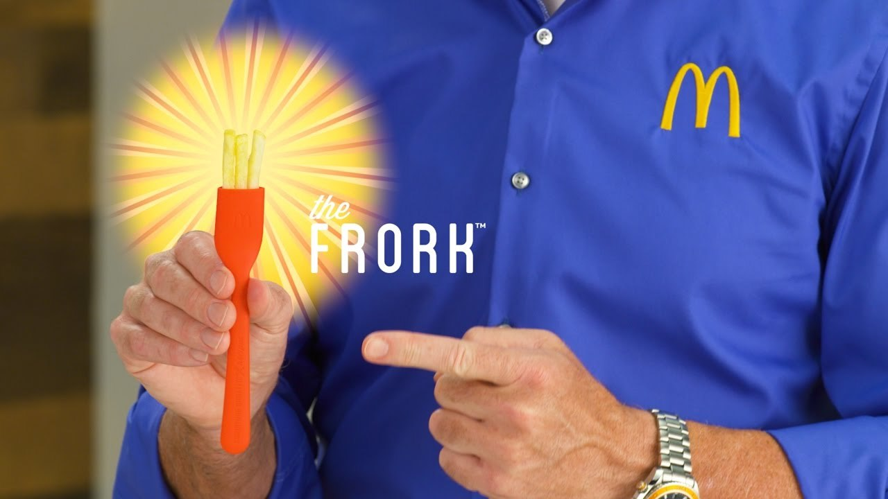 Introducing The Frork™: McDonald's Latest Invention ft. Anthony Sullivan