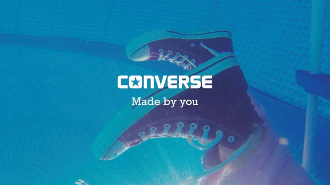 The Chuck Taylor All Star Converse Made by you