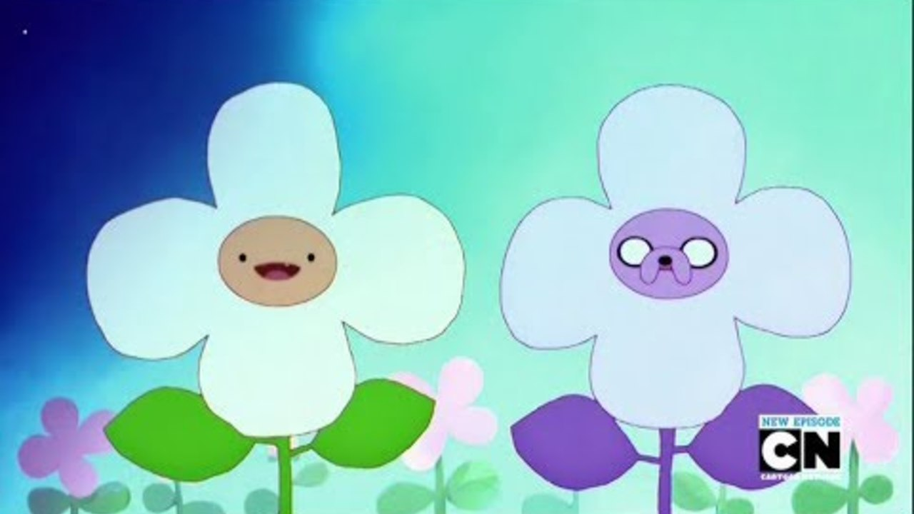 Adventure Time - Food Chain Finn And Jake's Flower (Song)