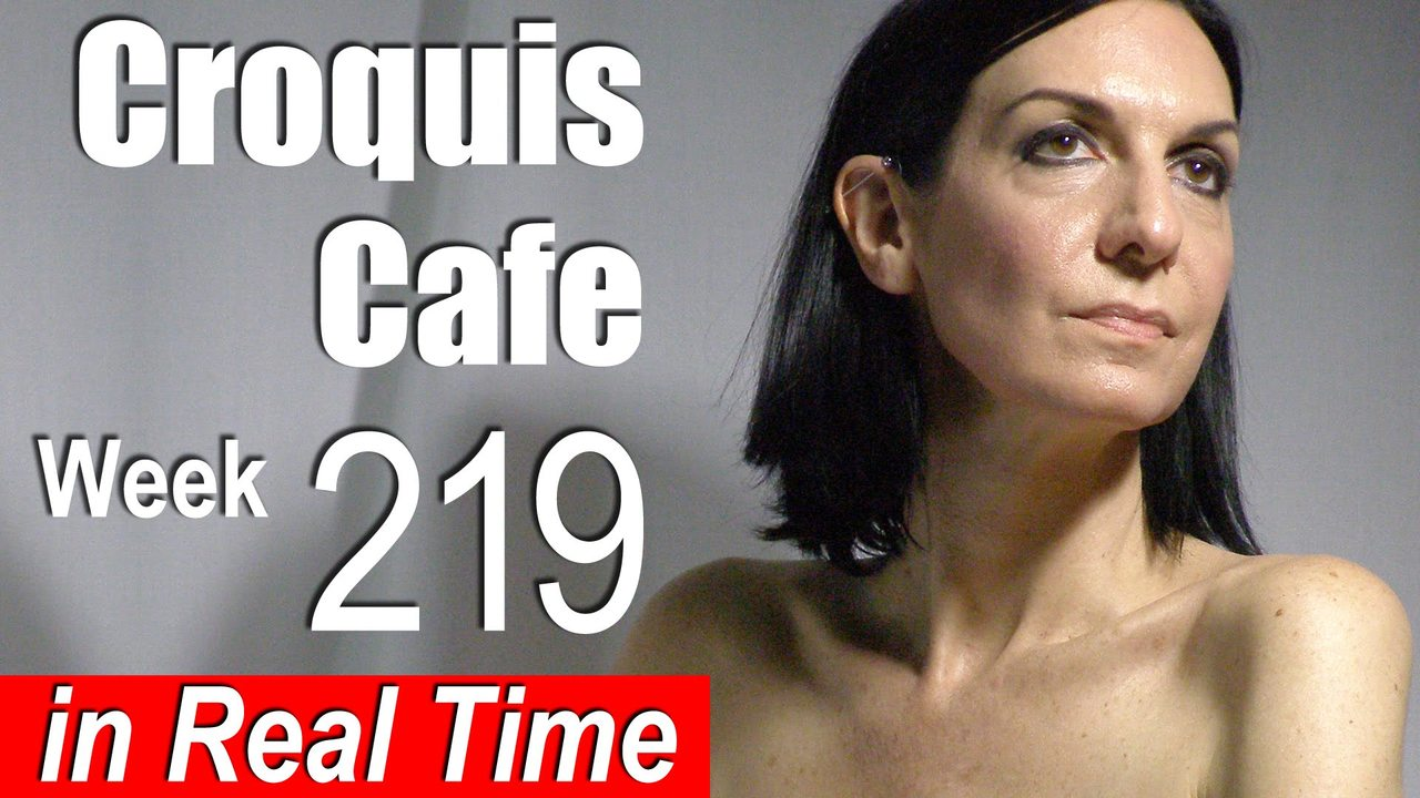 Croquis Cafe: Figure Drawing Resource No. 220