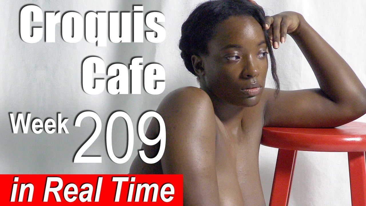 Croquis Cafe: Figure Drawing Resource No. 209