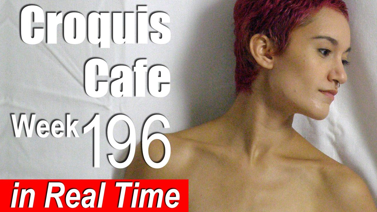 Croquis Cafe: Figure Drawing Resource No. 196