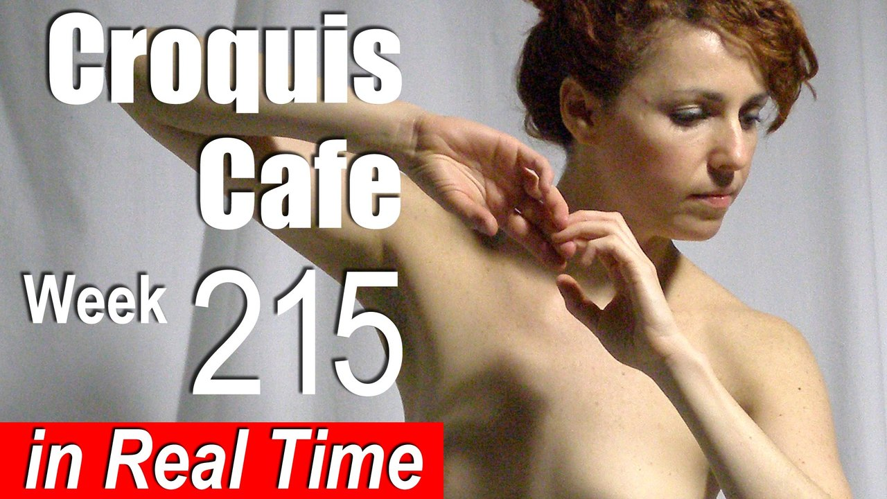Croquis Cafe: Figure Drawing Resource No. 215