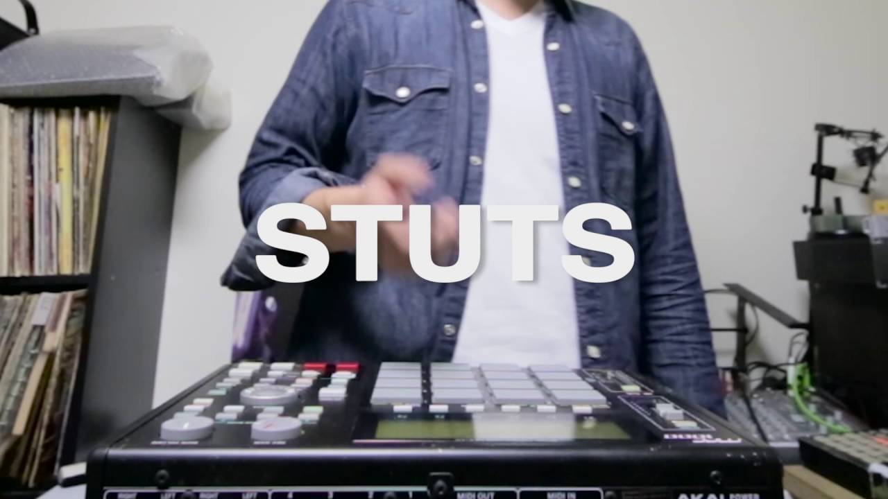 STUTS - Renaissance Beat / Pushin' (Performed with MPC1000) 【Official Music Video】