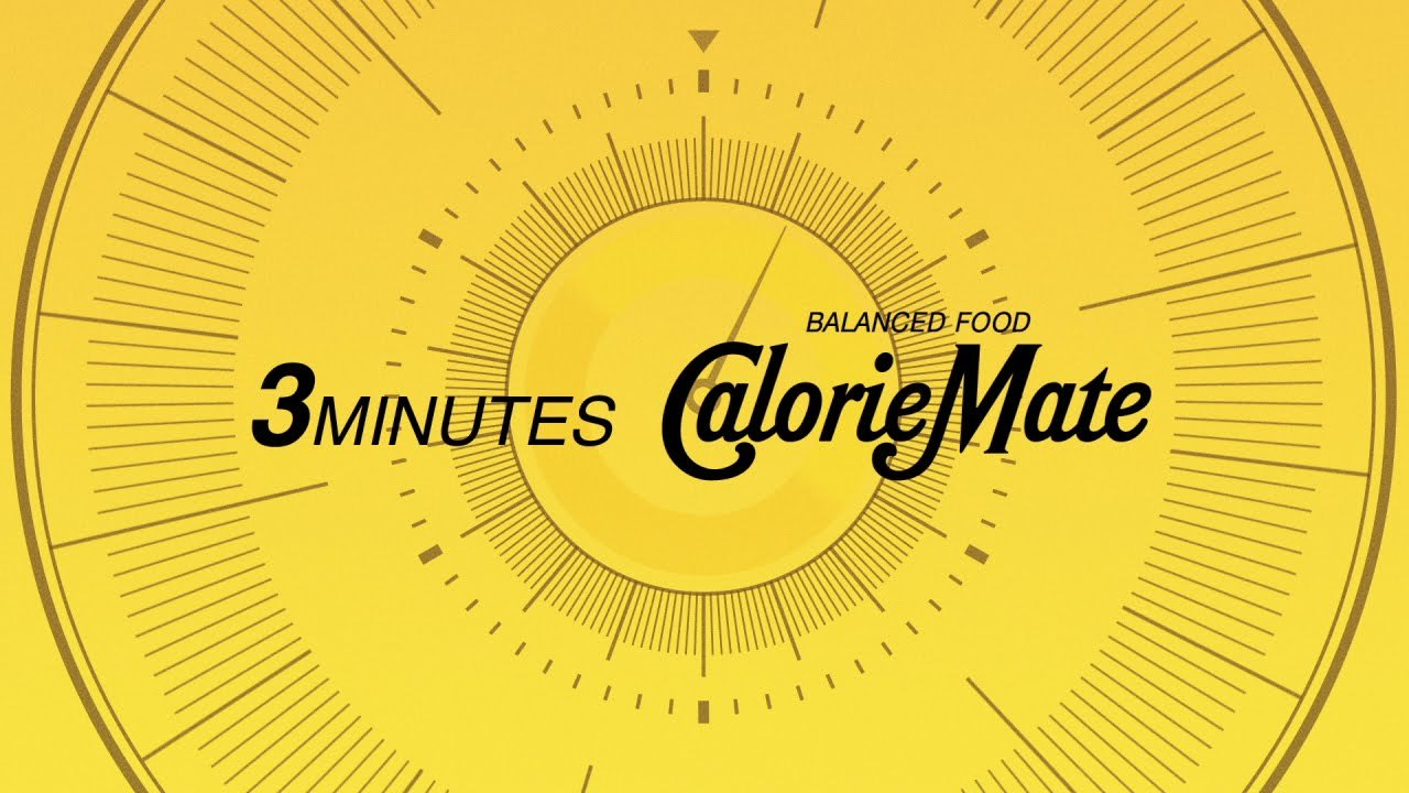 カロリーメイトWeb Movie|3minutes Calorie Mate