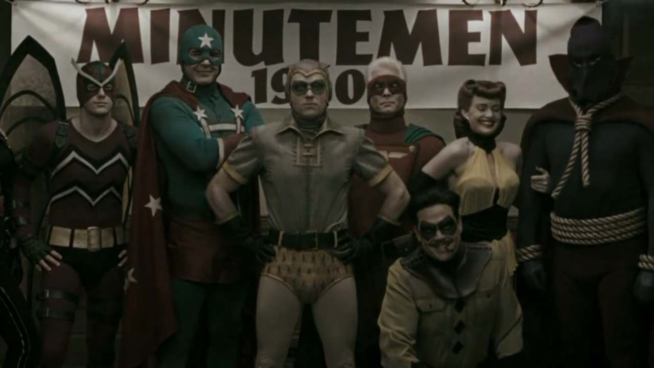Watchmen - title sequence