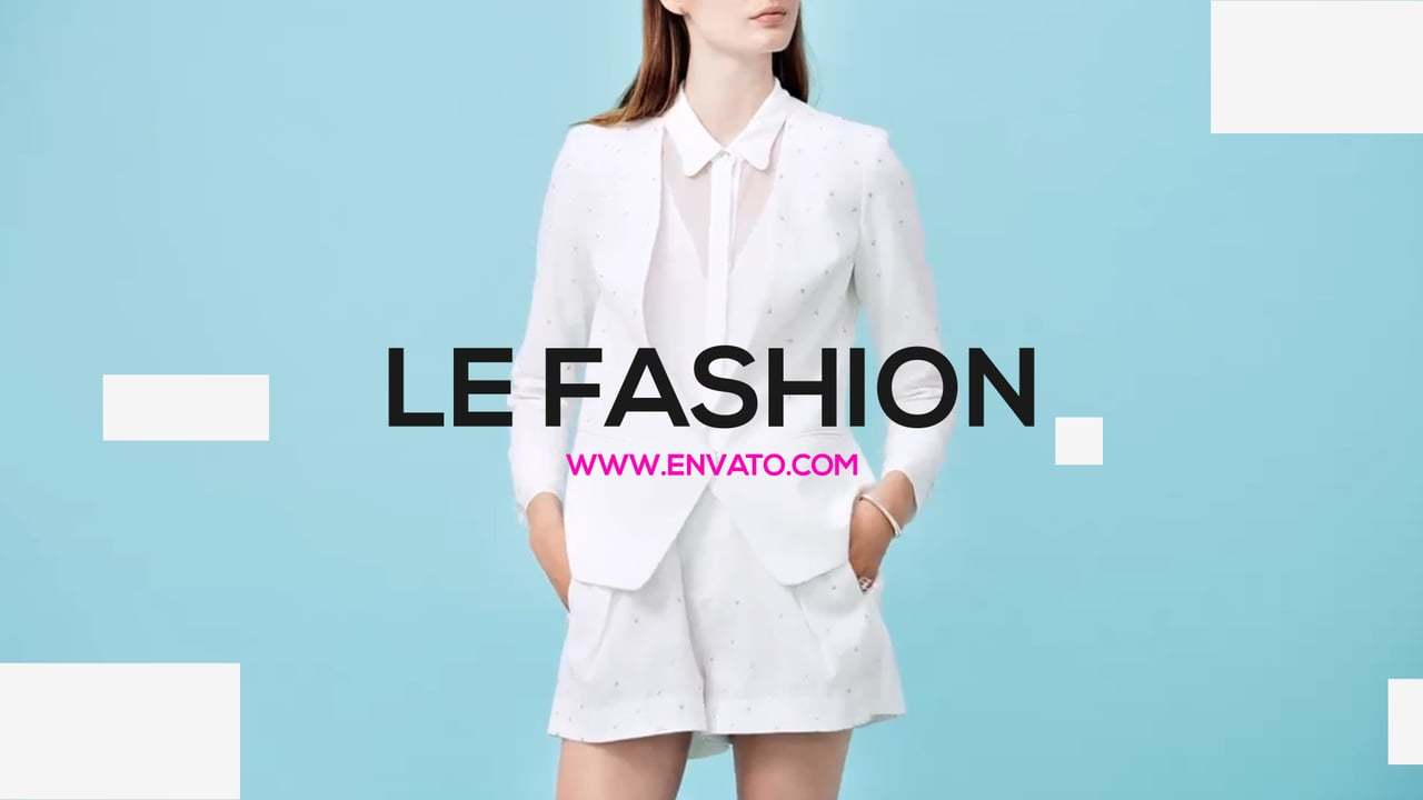 Le Fashion   After Effects Template