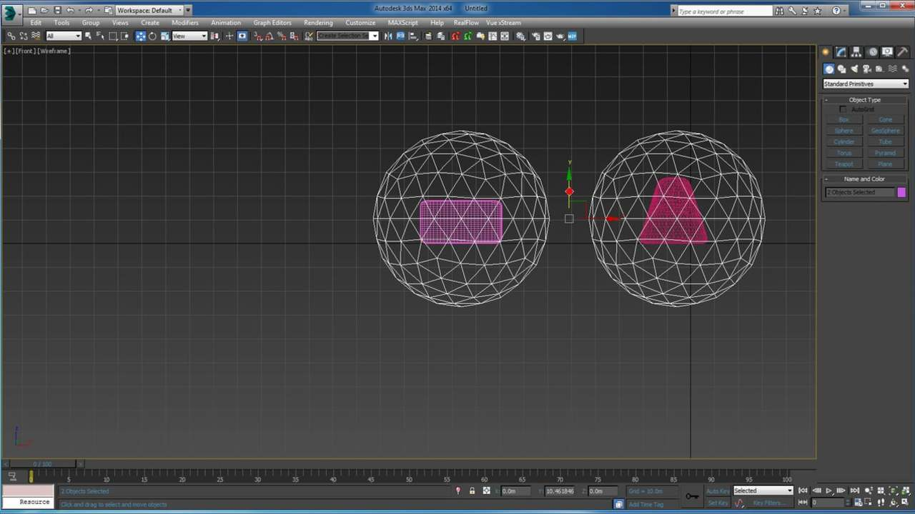 Quick Tip: How to create morph from different topologies in 3ds max
