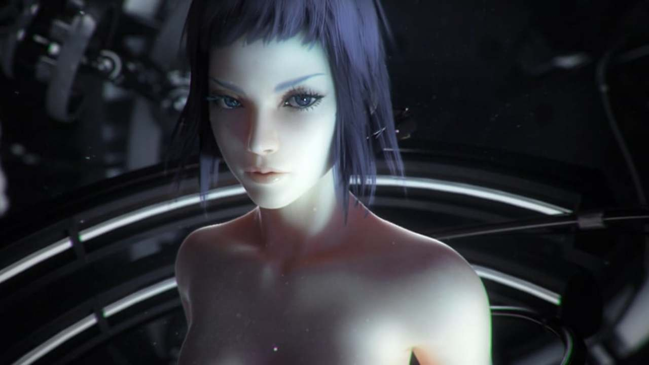 Ghost in the shell / virtual reality diver
