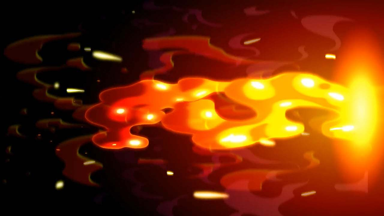 2D ANIMATION MAGMA FX