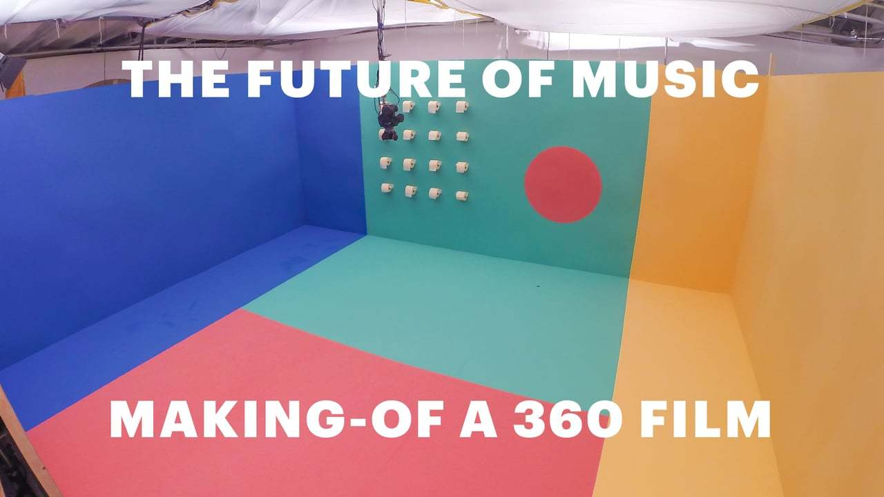 Hello Play - The Future of Music - MAKING-OF A 360 FILM