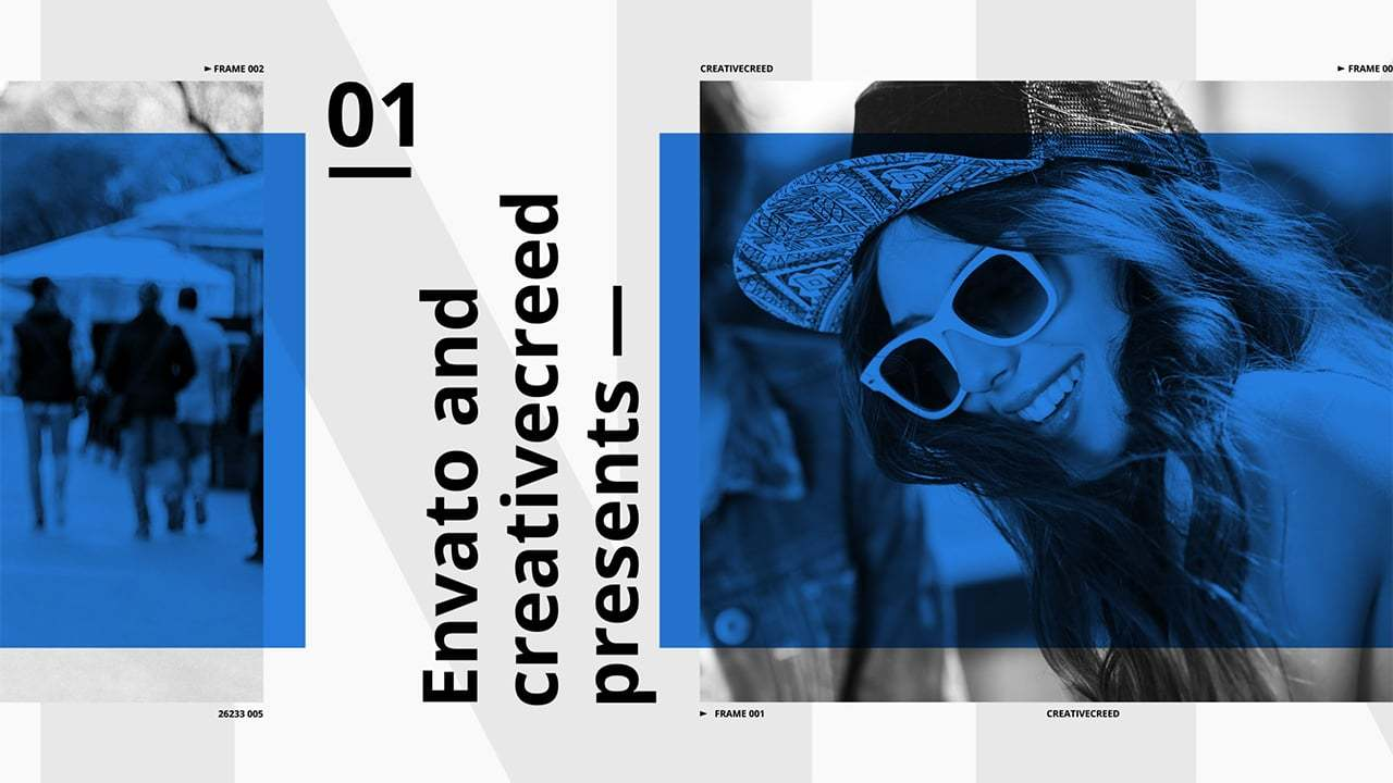 Clean Slideshow | After Effects Template