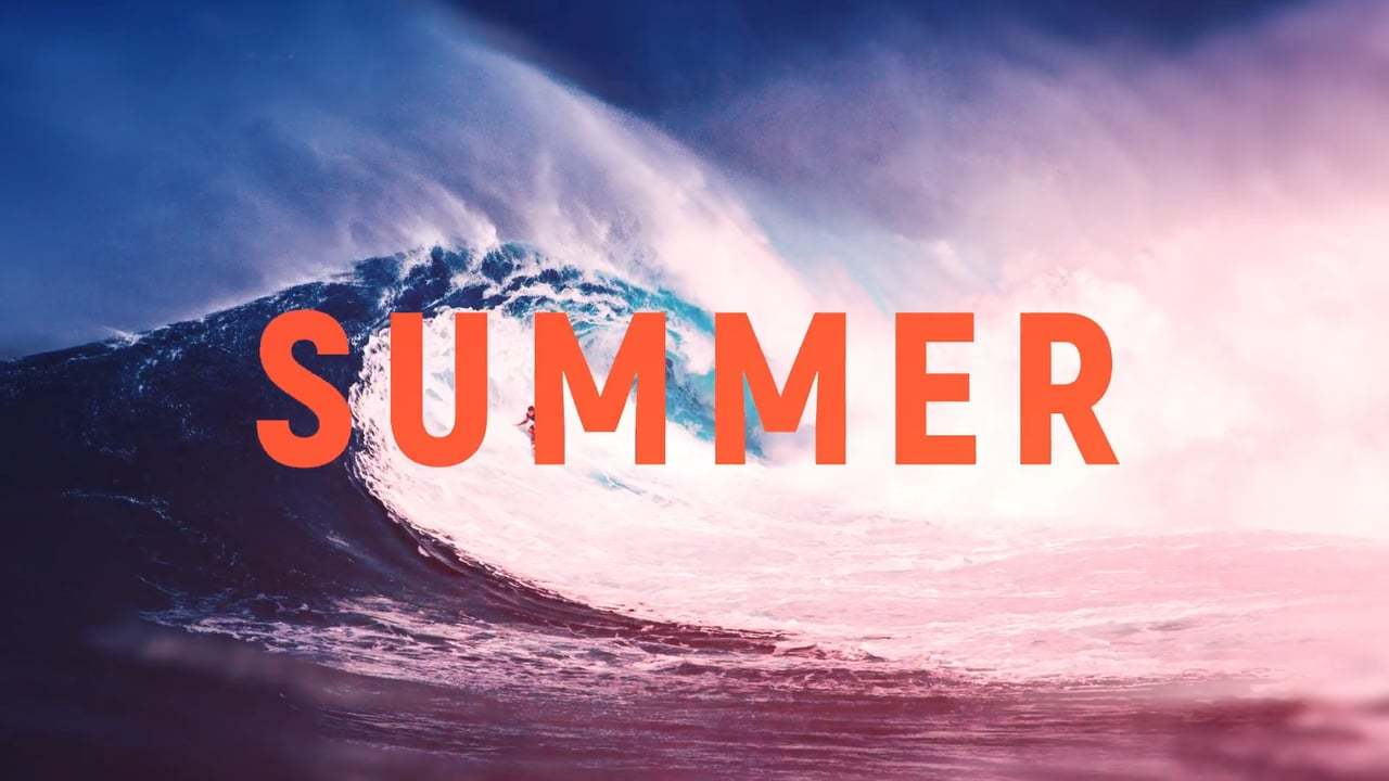 After Effects Template - Summer Opener